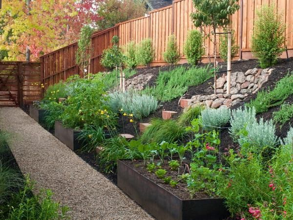 25 Best Ideas About Sloped Backyard Landscaping On Pinterest