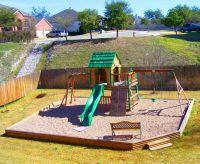 pea gravel play area in backyard | EVERLAST CONTRACTING CO ...