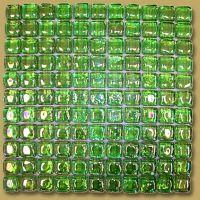 Coolest Lime Green Glass Tile Backsplash | Small Kitchen ...