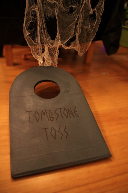 Tombstone Toss Halloween bags gameall you need is a