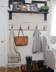 diy rustic home decor ideas you can make yourself also hat rack rh pinterest