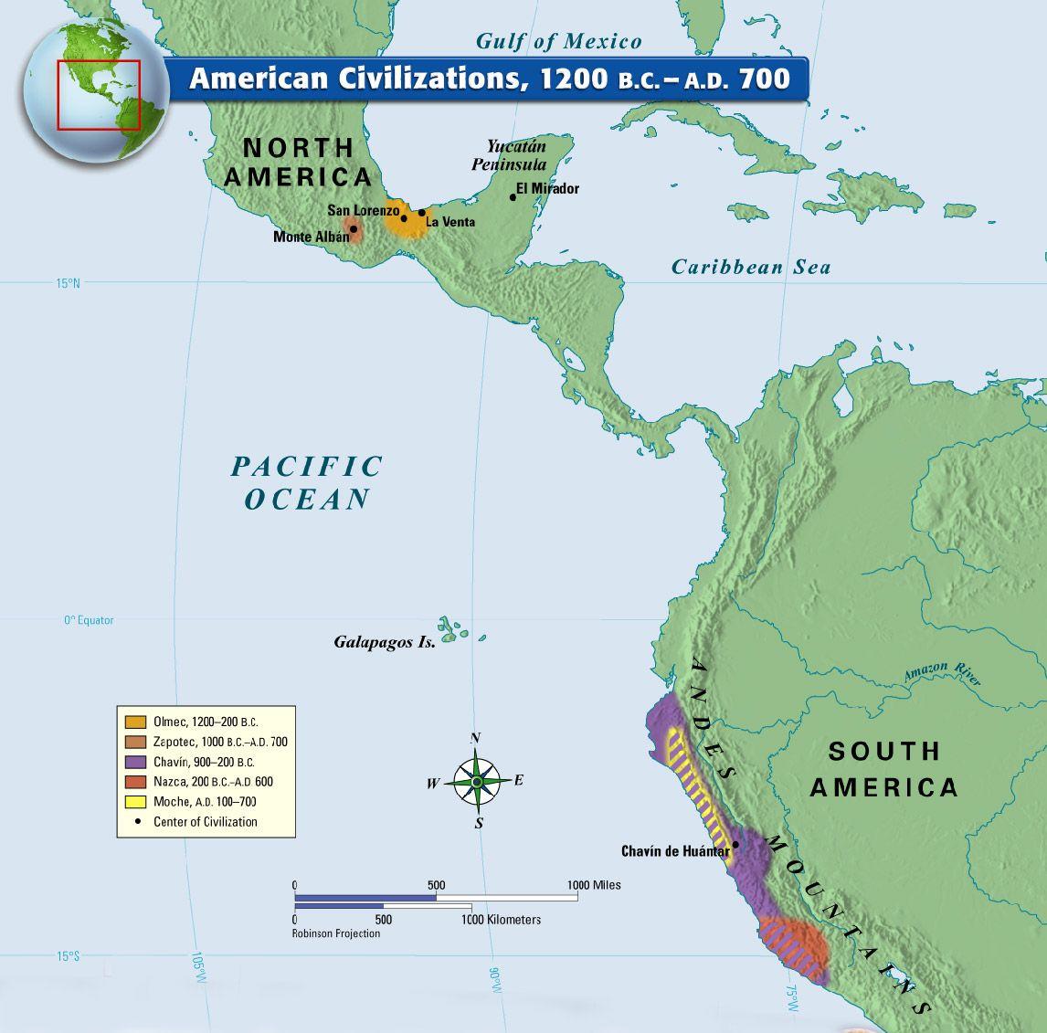 Early Civilizations Of America Worksheet