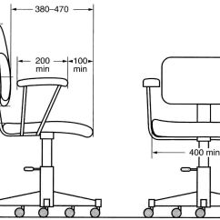 Ergonomic Chair Diagram Wedding Covers East Midlands Office Rooms Being Present Before The Blueprints 3d