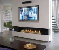 Fitting TV Above Fireplace Installation : Gas Fire LCD ...
