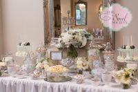 Elegant Wedding Dessert Table | Dessert Tablescapes | Cake ...