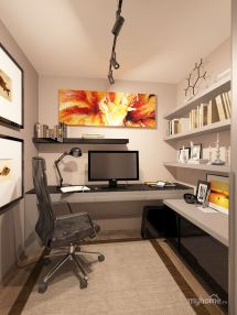 Nice Small Home Office - Practical Setup Kind Of