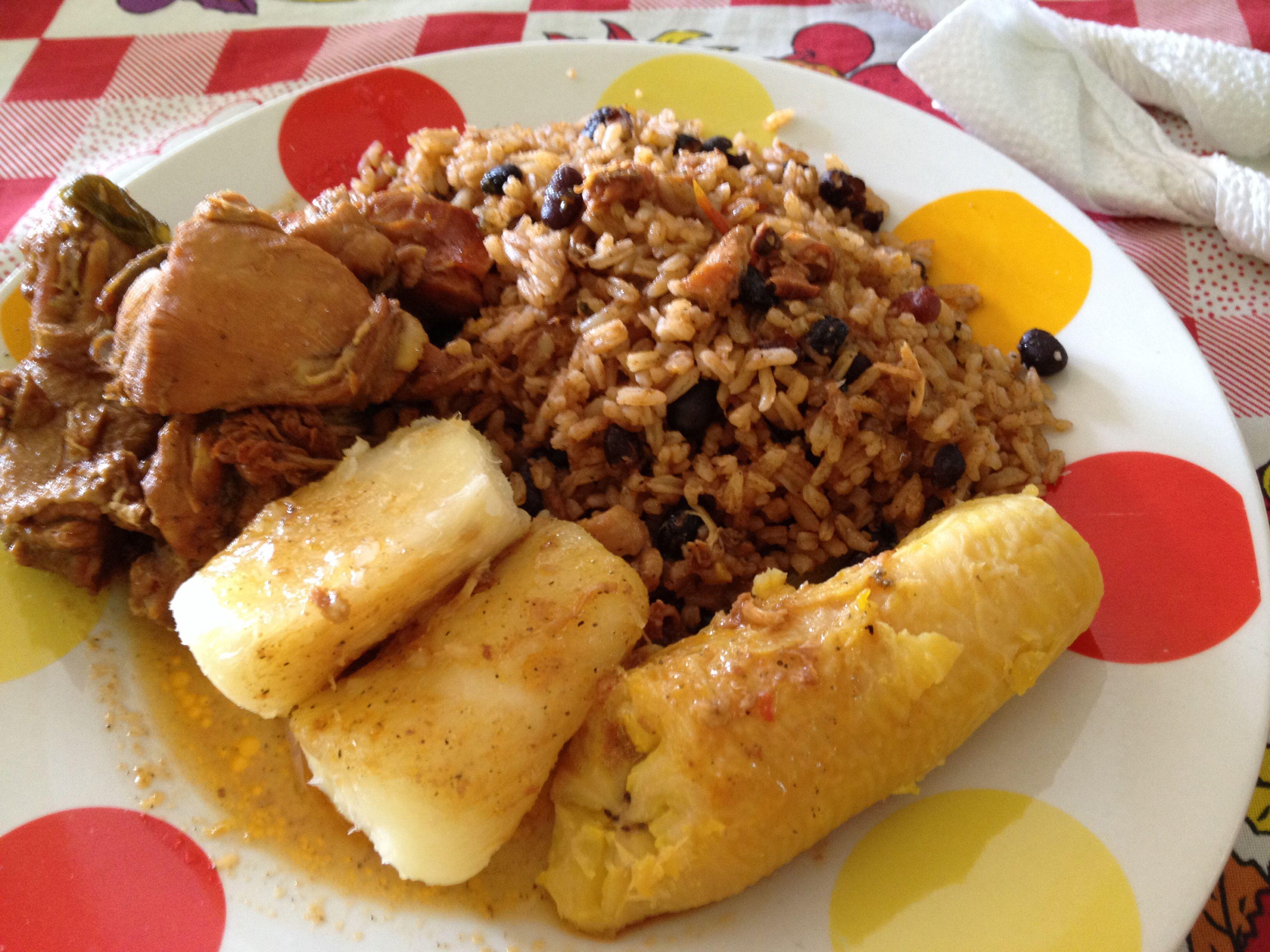 Comida Tipica de Republica Dominicana  100 Dominicana
