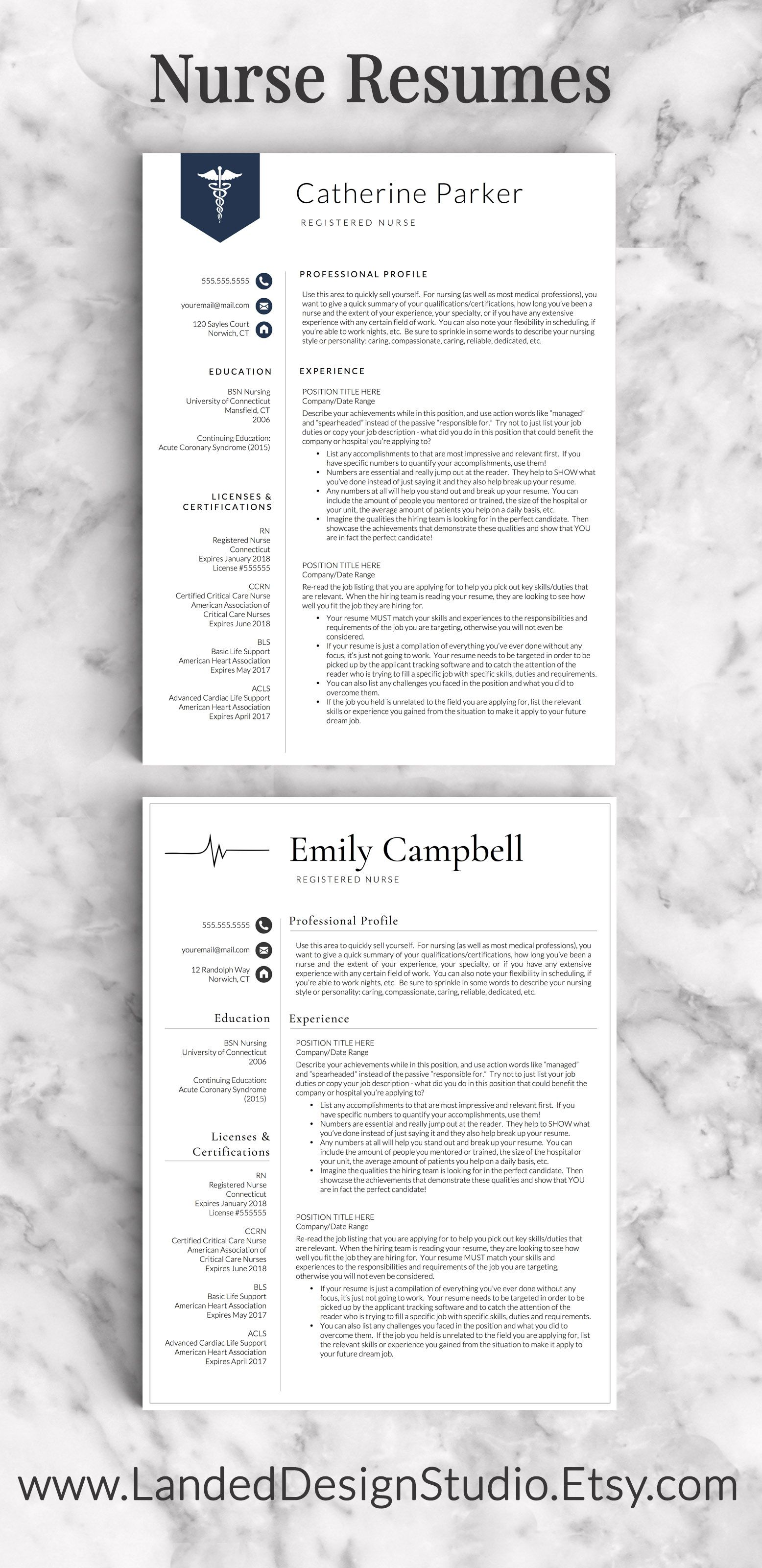Nurse Resume Skills Nurse Resume Templates Makes Me Want To Hurry Up And