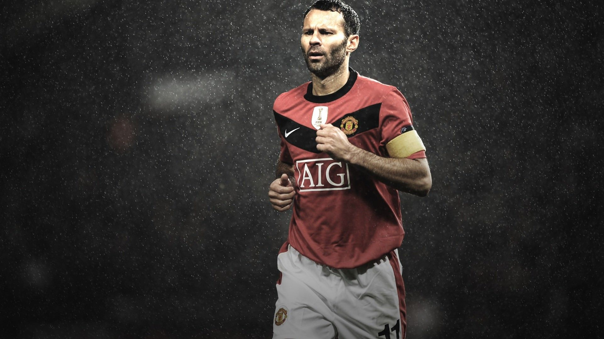 ryan giggs manchester united legend wallpaper | football