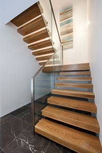 Cantilevered   Stair   Floating   American Oak ...