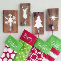 Best 25+ Christmas stocking holders ideas on Pinterest ...