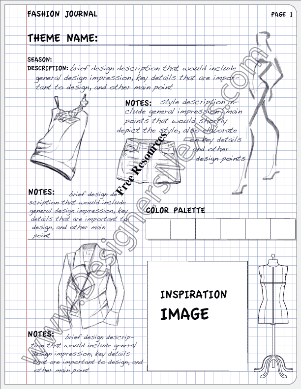Fashion Portfolio Layout Examples V11 Design Journal