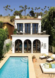Spanish Colonial Modern Pools