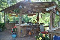 Back Yard Bar | Back Yard Tiki Bars | Outdoor | Pinterest ...