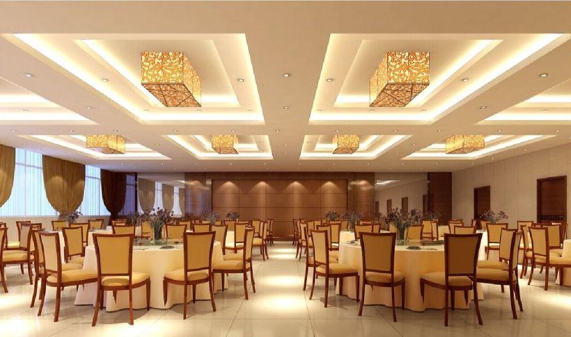 Banquet hall false ceiling designs for Wedding hall design