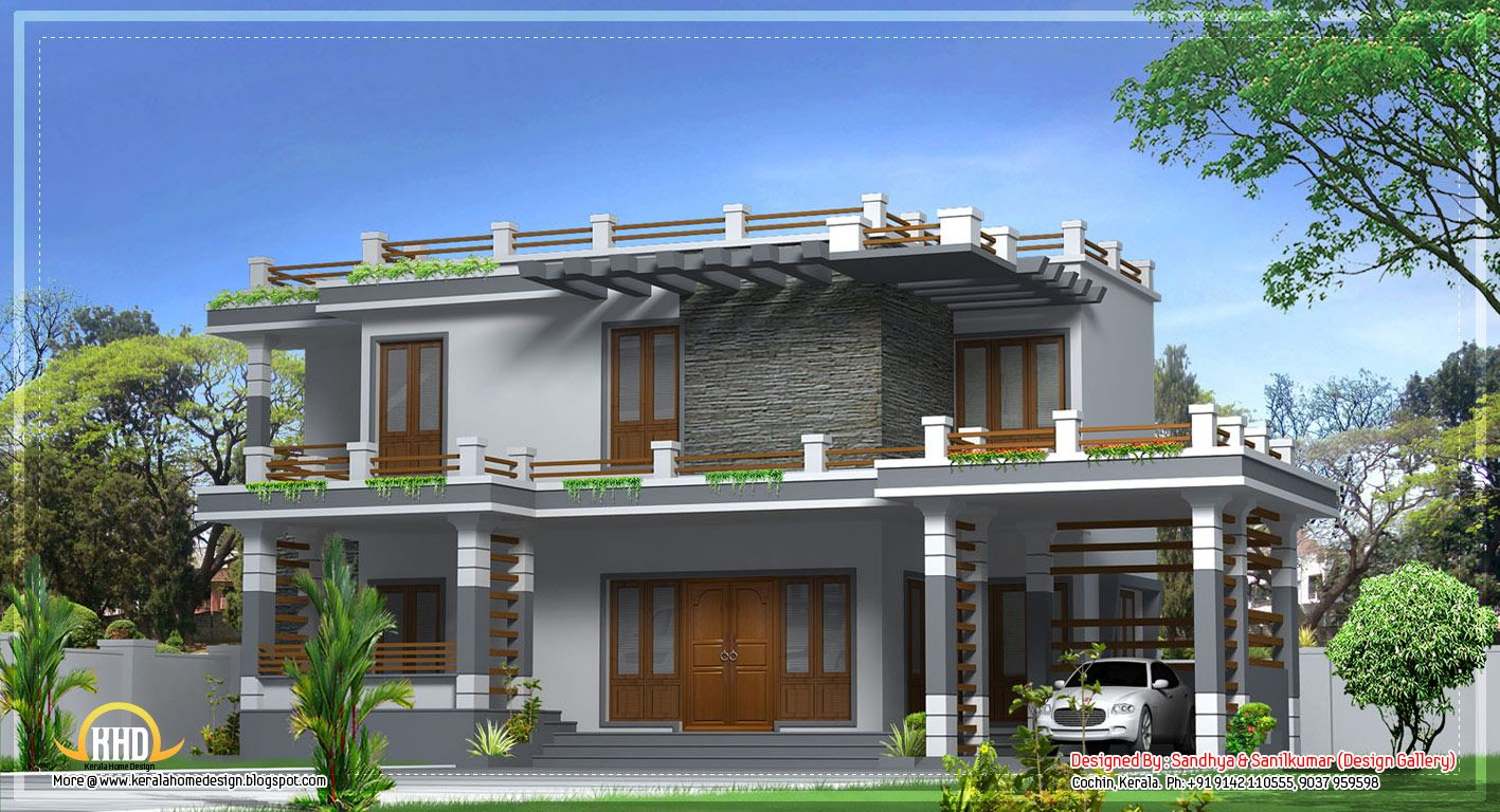 Modern Home Design In Kerala 2520 Sq Ft April 2012 Modern