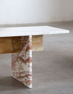 Muller van severen designes multi color marble bench also chairs rh in pinterest