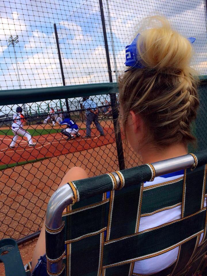 Softball Hairstyles Softball Hair Softball Hair Ideas