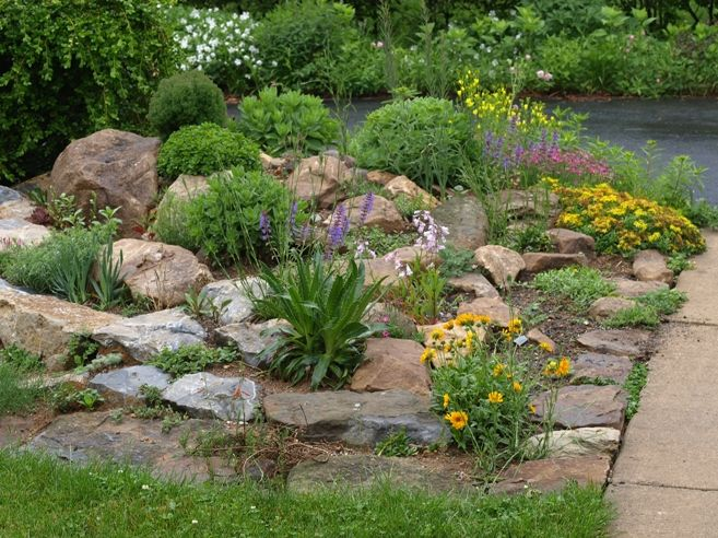25 Rock Garden Designs Landscaping Ideas For Front Yard Gardens