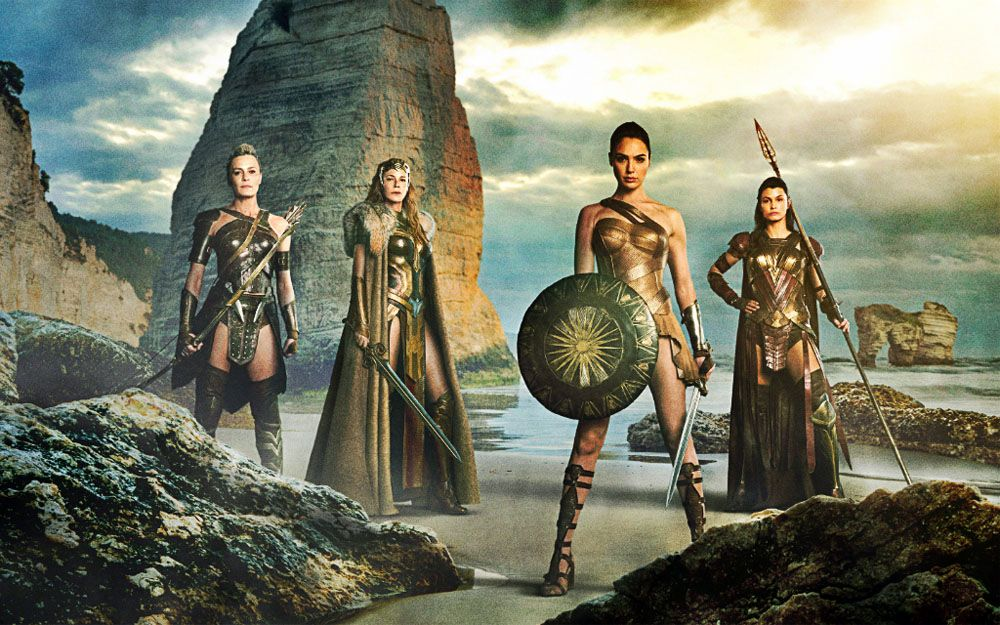 Image result for wonder woman 2017