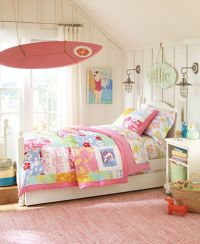 Girls' bedroom ideas: Surfer girl theme room | Girl themes ...