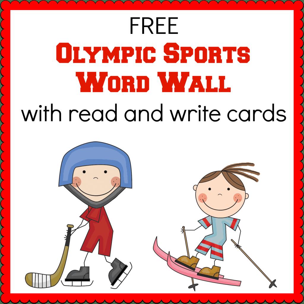Winter Olympics Printables