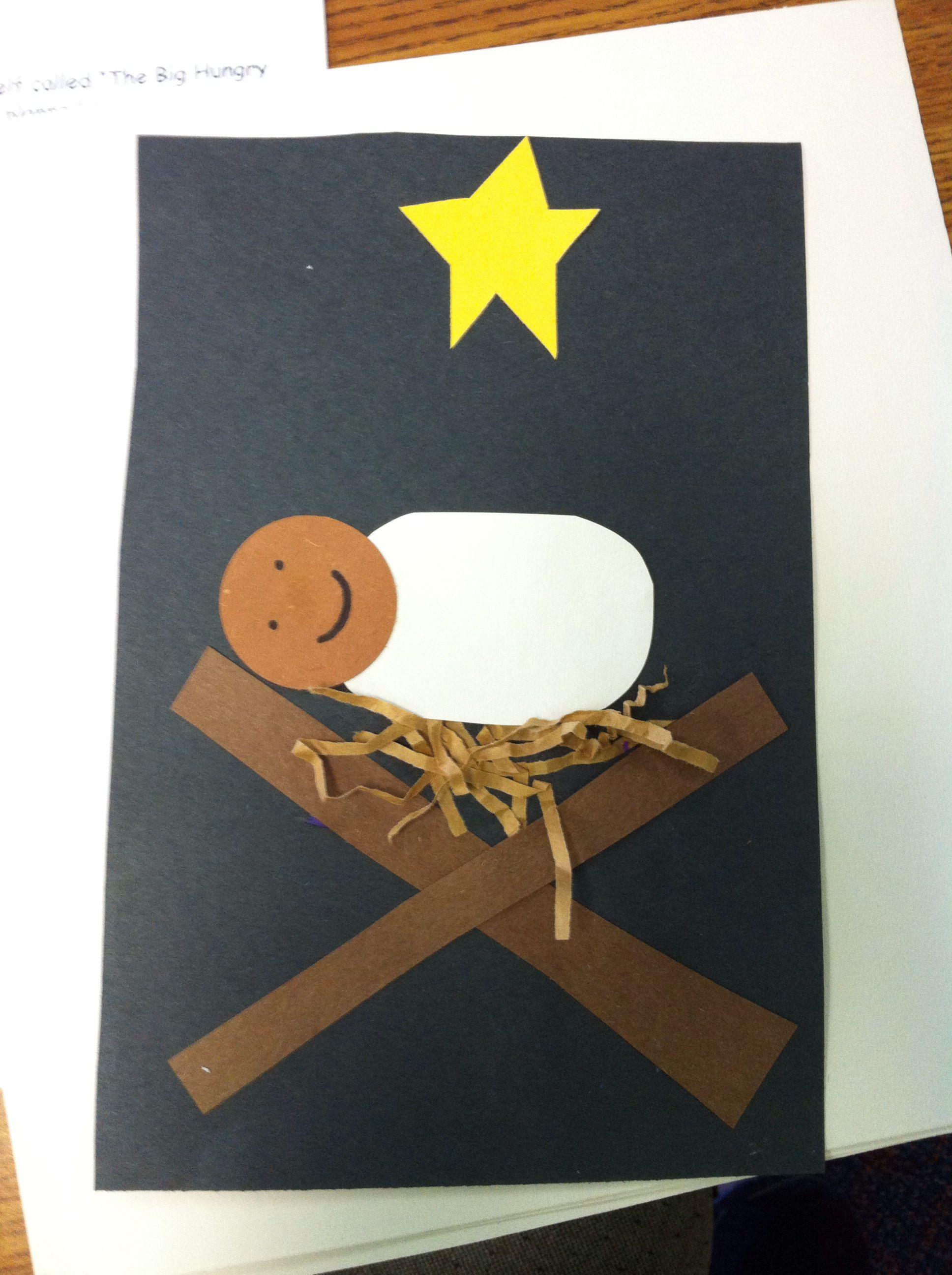 Christmas Baby Jesus Craft