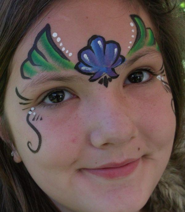 Mermaid Face Painting Designs