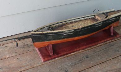Antique Wooden Model Ships Wooden Thing