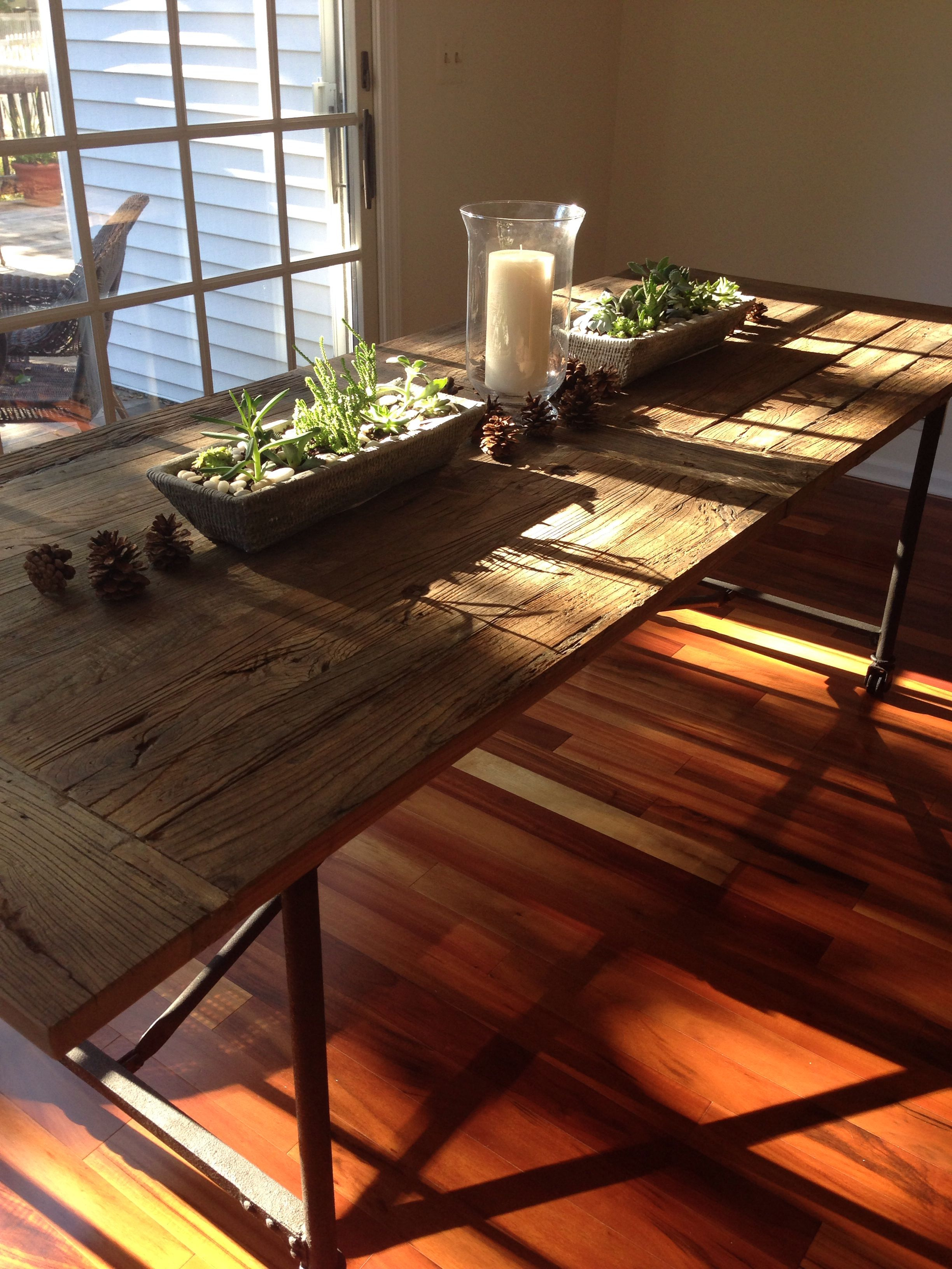 restoration hardware kitchen table faucet reviews flatiron succulent