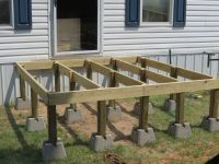 How to Build a Simple Deck | Decking, Backyard and Wood ...