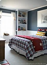 Create  bright and happy bedroom for the young man in your life find inspiring also rh pinterest