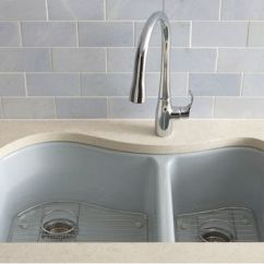 Cast Iron Kitchen Sinks How To Make Cabinet Doors From Plywood Kohler Tones Top Mount Undermount 24 In Single Bowl Sink White Pinterest And