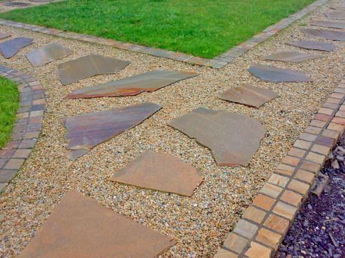 Quartzite Stepping Stones Garden Decor Ideas Some Creative Garden