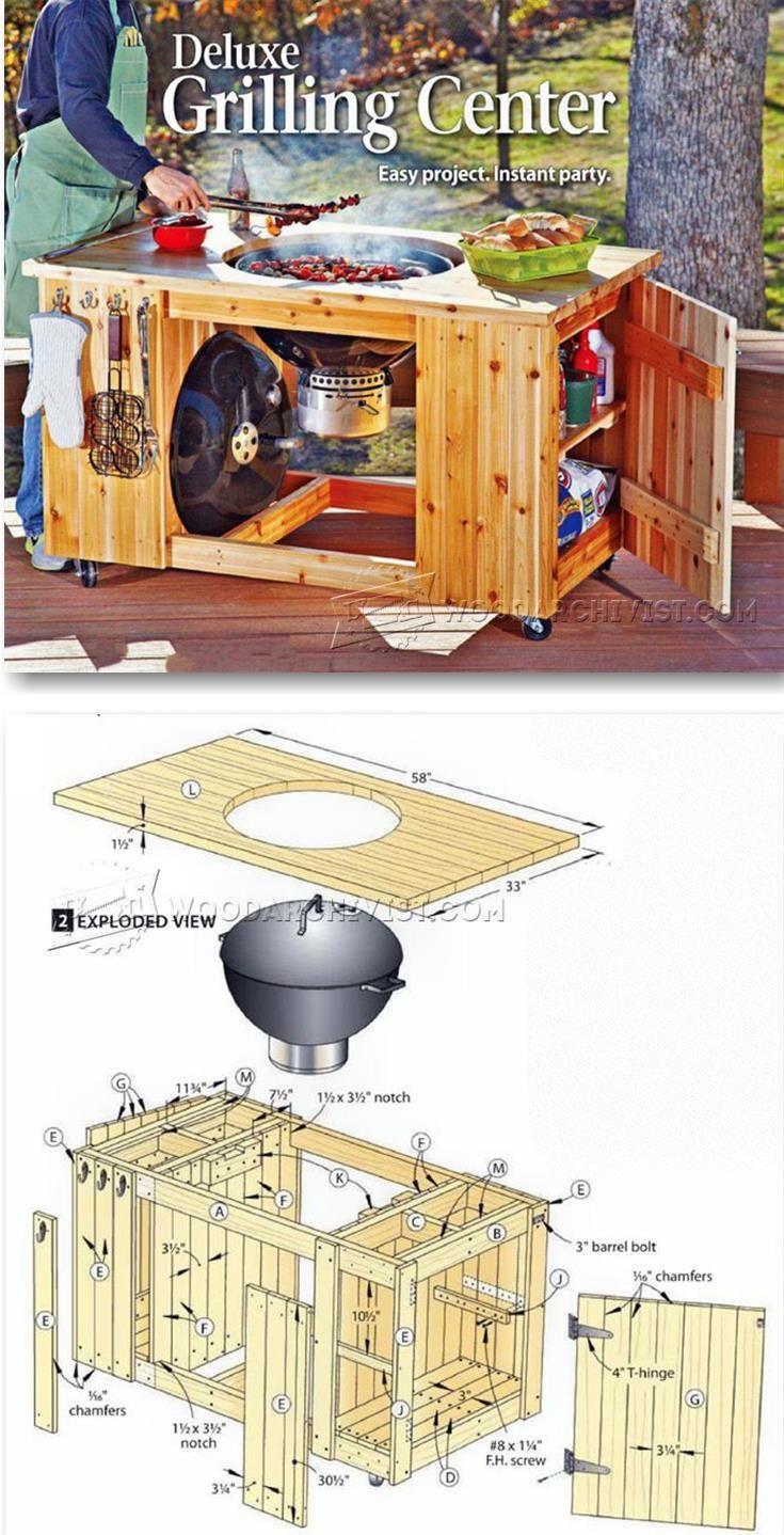 DIY Grilling Center