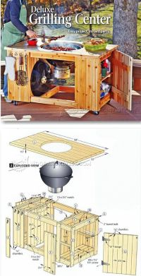 DIY Grilling Center - Outdoor Plans & Projects ...