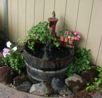 Homemade Water Fountain | Garden | Pinterest | Homemade ...