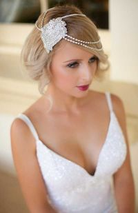 20 Bob Wedding Hairstyles Ideas   Loose waves, Short bobs ...