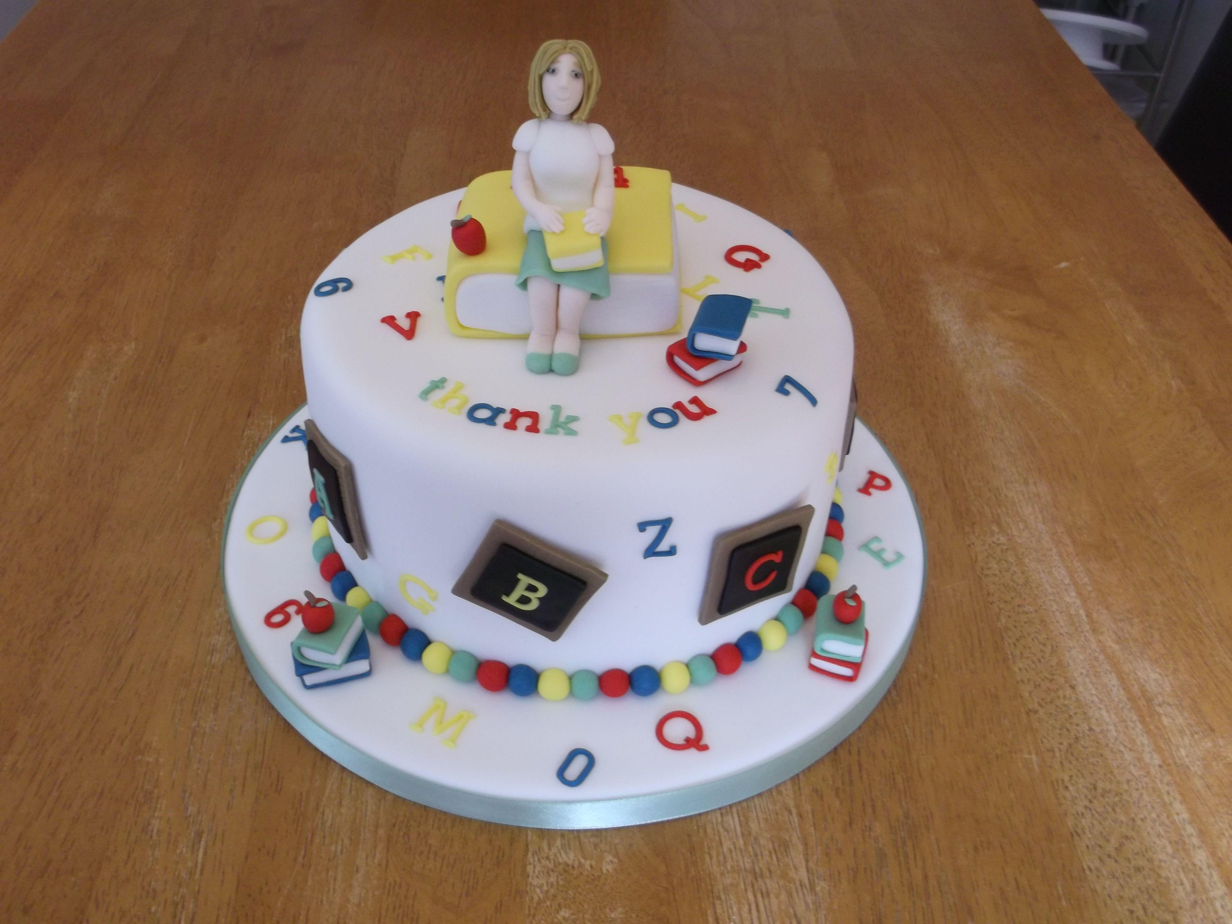 Thank You Cake For A Teacher X Facebook