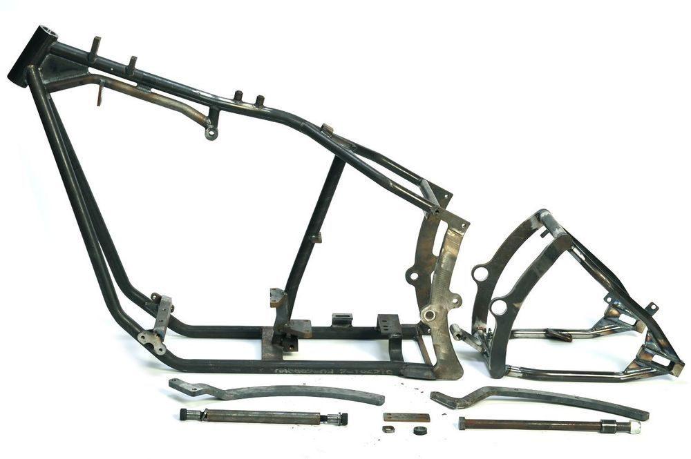 Wide Drive FXST Frame For Harley Davidson Big Twin (NEW