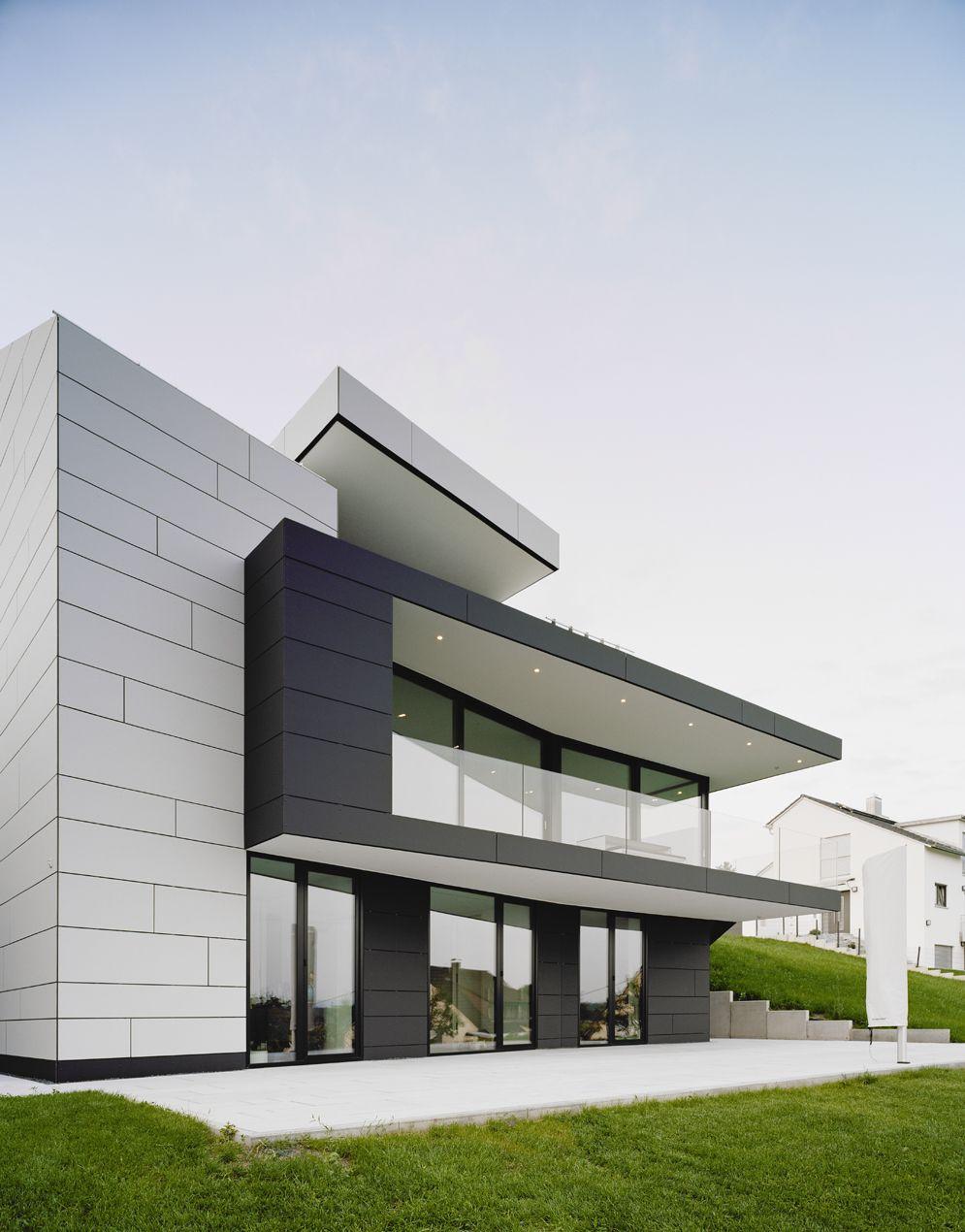 Modern villa Denkendorf Gellink  Schwmmlein Architekten EQUITONE facade materials equitone