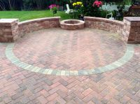 Belgard Holland Stone Patio with Fire Pit by Mundelein, IL ...