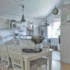 Shabby Chic Kitchen Decor Pig Romantiska Hem Tänka Nytt Och Om Beautiful Places