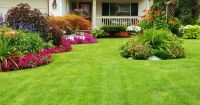 corner fence landscaping ideas | Home Landscaping Ideas ...