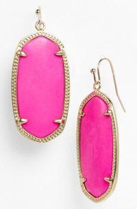 Pink Kendra Scott Earrings | Kendra Scott......oh yes ...