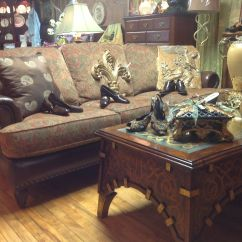 Reupholster Sofa In Leather 1 Piece Set Brown Couch With Fabric Cushions Sillones