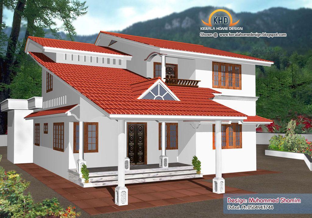 Beautiful Home Elevation Designs Kerala House Design Idea