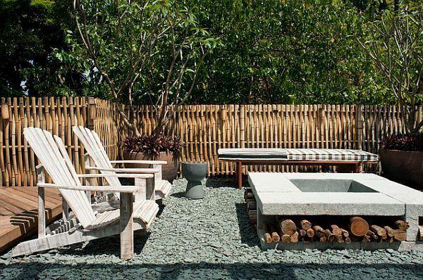 sichtschutz holz mit blumenkasten gartengestaltung pflege, Garten und erstellen