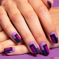 Cool Color Block Nail Designs | Color block nails, Color ...