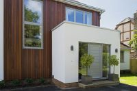 modern front entrance extension - Google Search | modern ...